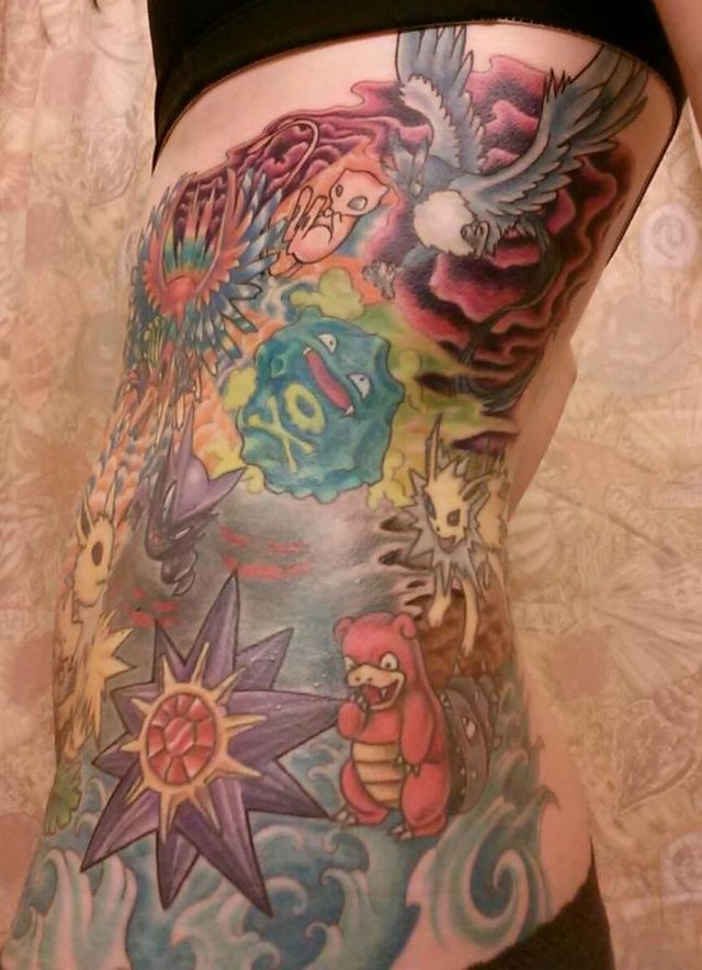 39 best pokemon tattoo images on pinterest pokemon for Generation 8 tattoo
