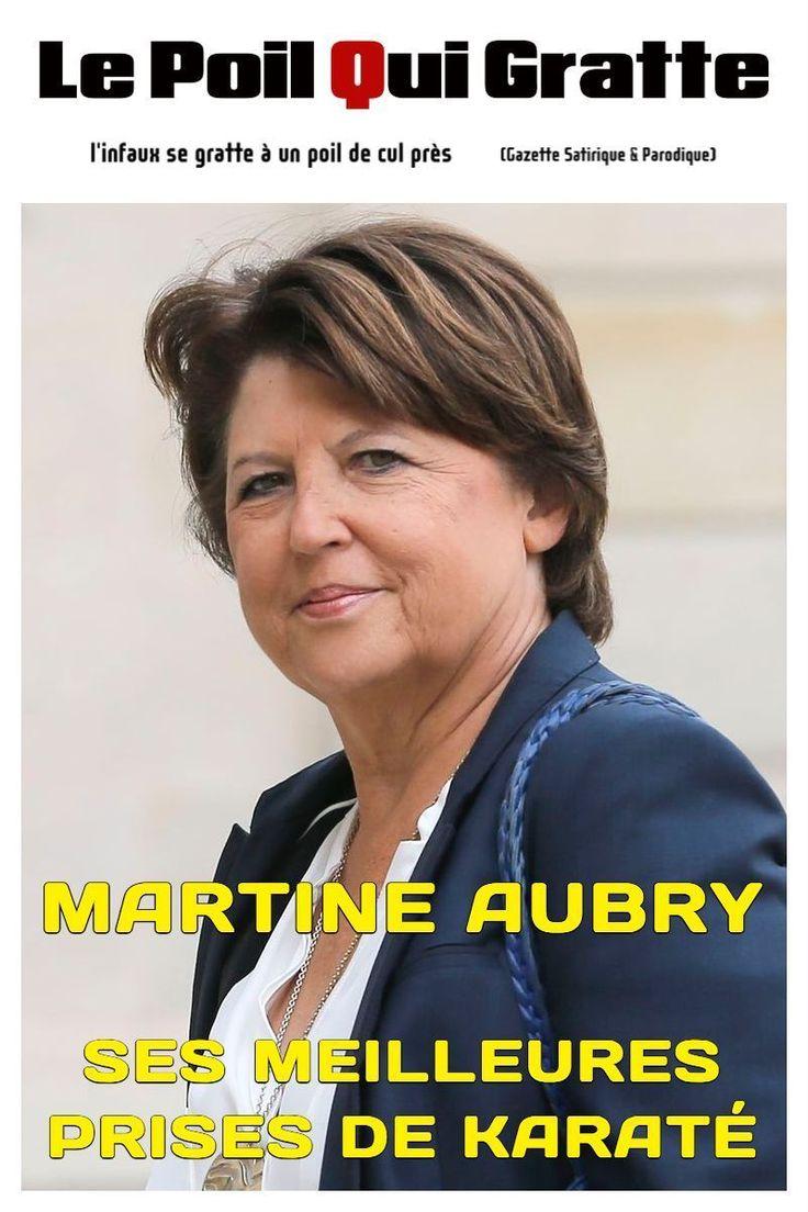 [LPQG Niouzes] Hors-Série: Martine Aubry ses meilleures prises de karaté