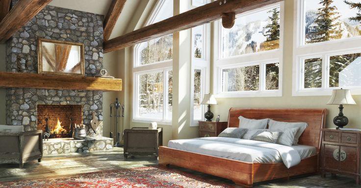 H tels de luxe en ventes priv es escalier d coration for Decoration maison de montagne