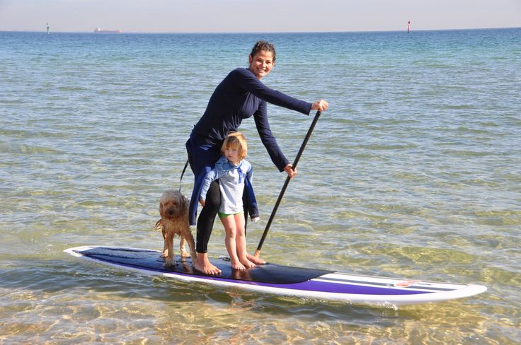 Learn how to Stand Up Paddle with PSUPs on the Mornington Peninsula. Stay in our family friendly accommodation.