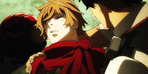 Samurai Flamenco ~~ Oh, Goto... Hold him close and make sure he's okay. GIF