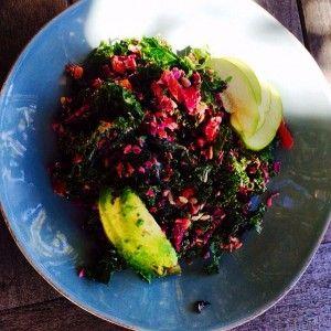 Joe's Raw Kale and Cabbage Chia Seed Salad