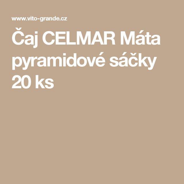 Čaj CELMAR Máta pyramidové sáčky 20 ks