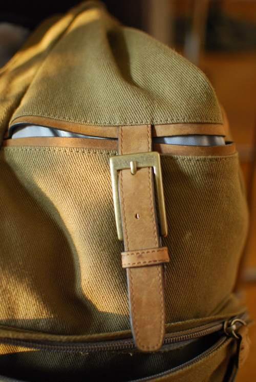 Ninja bag is watching