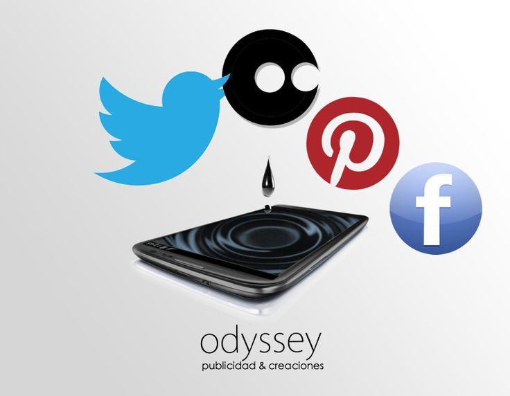 Ya estamos aqui!! ..Odyssey en tus redes sociales.
