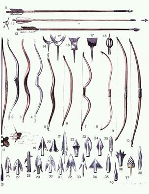 Medieval arrowheads