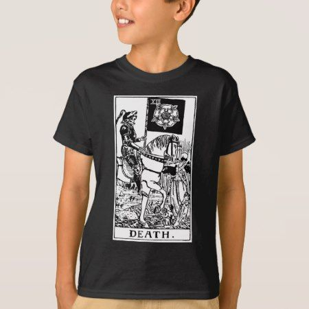 Tarot 'death' T-Shirt - click to get yours right now!
