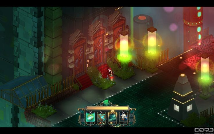 """""""I see a red door and I want it painted black"""" / Transistor Screenshot"""