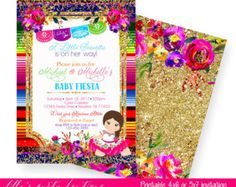 Fiesta Baby Shower Fiesta Mexican Baby By LillysPartyBoutique