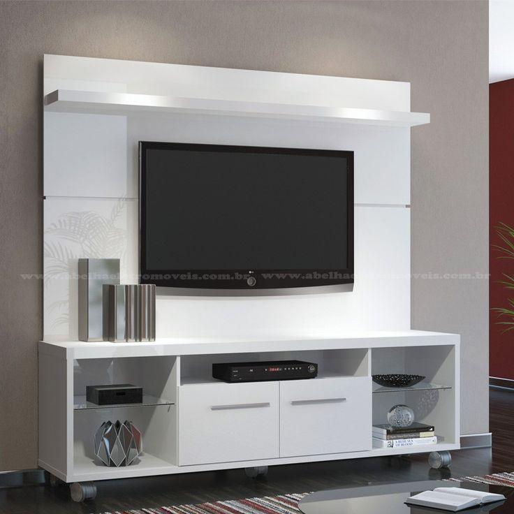 Painel tv branco pesquisa google wohnzimmer for Wohnzimmer pinterest