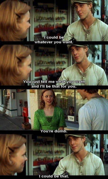 Ryan Gosling, The Notebooks, Funny, Notebooks Quotes, Things, Thenotebook, Movie Quotes, Nicholas Sparkly, Favorite Movie