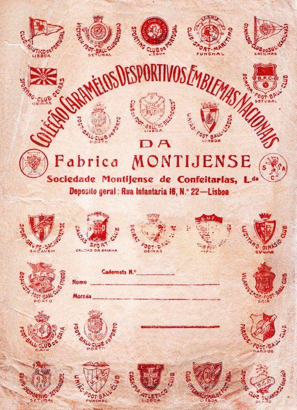 """Em 1930, António Evaristo de Brito constitui com seu irmão a Sociedade Lusitana de Confeitarias, com sede no MONTIJO, lançando no mercado a colecção de cromos """"Rebuçados Internacionais"""", que oferecia já aos coleccionadores uma bola de """"cautchu"""", outra de borracha, um canivete, uma caneta e mais outros pequenos brindes. Entretanto, a Sociedade Lusitana muda de ..."""