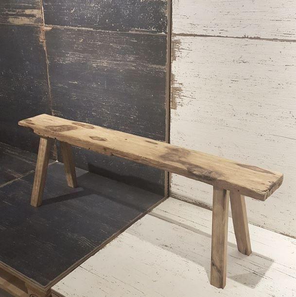 Younhyun Skinny Wood Bench 윤현상재 스키니 우드 벤치 Interior