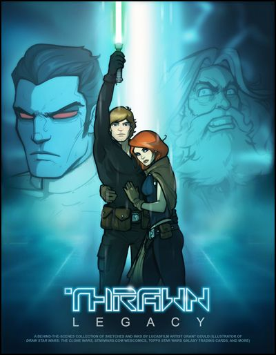 Grant Gould's Thawn Legacy is a kick-ass tribute to Tron and to Timothy Zahn's Thrawn Trilogy.
