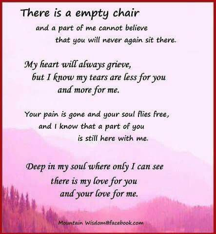 Best 25+ Empty chair poem ideas on Pinterest | Reunions ...