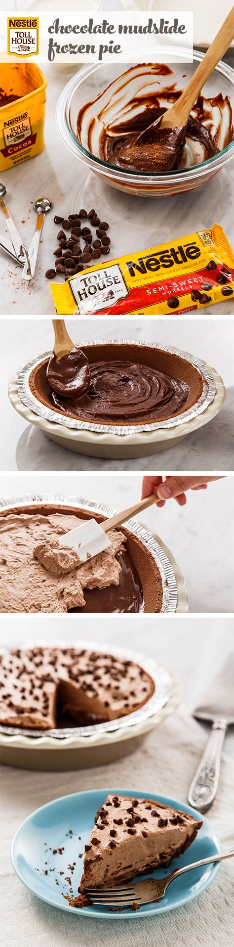 This chocolate pie is easier than it looks (but you don't have to tell anyone!) The silky filling pairs the flavors of coffee and chocolate, creating pure mocha perfection in every bite. It's a classic summer dessert that's perfect for sharing.