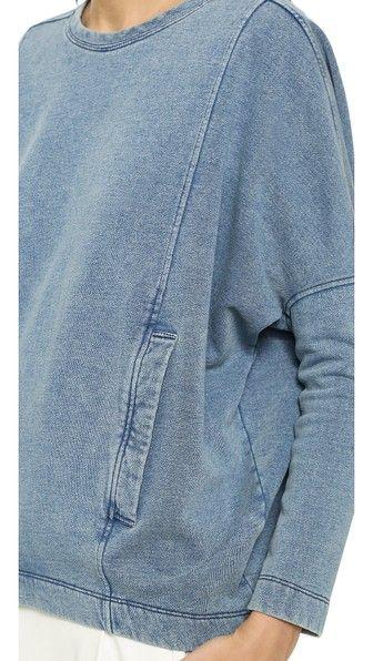 Indigo Sweatshirt Top