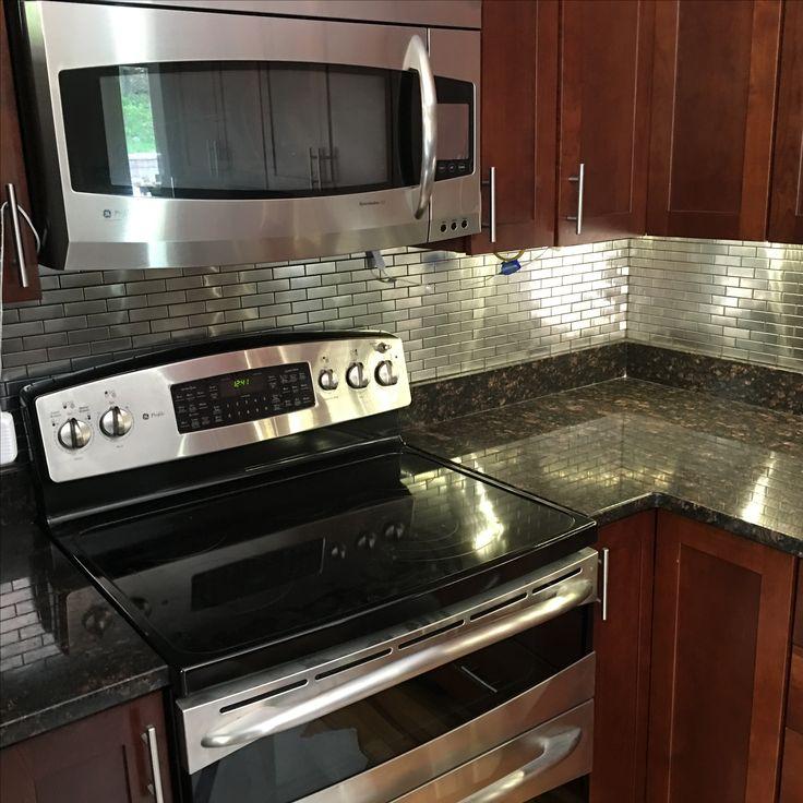 Best Of Stove Backsplash Stainless Steel