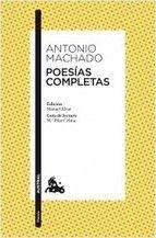 Libro de poesía de Antonio Machado.