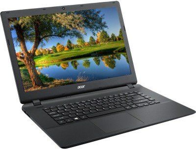 Acer Aspire ES1-521 (NX.G2KSI.024) - AMD APU Dual Core/ 4GB/ 1TB/ 15.6 inch/ Linux(Diamond Black) of 21499 at just 17699 Rs only ~ Www.Trickloot.in
