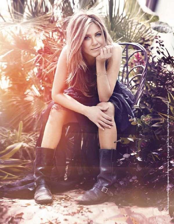 Jennifer Aniston for Elle France August is Charming trendhunter.com