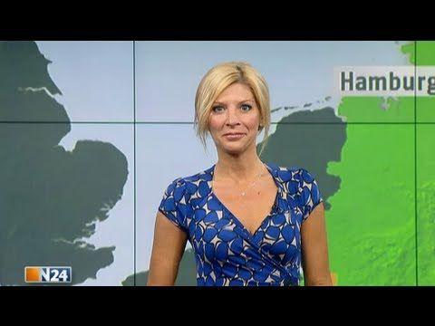 Das N24-Wetter am 29.08.12 mit Miriam Pede - YouTube
