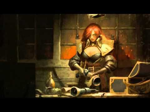 Bilgewater (Miss Fortune) League Of Legends Login Screen With Music - YouTube