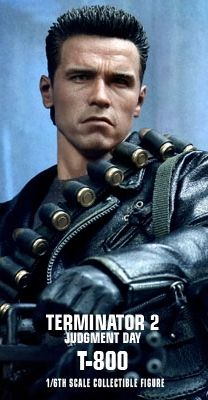 Terminator 2: Judgment Day - T-800 1/6th scale Collectible Figure