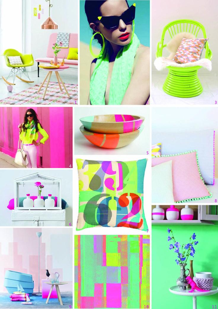neon & pastel