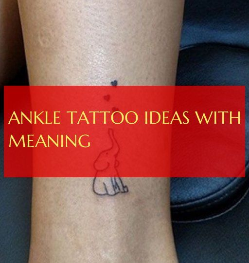 ankle tattoo ideas with meaning ; knöchel tattoo ideen mit bedeutung ; #ankle #…