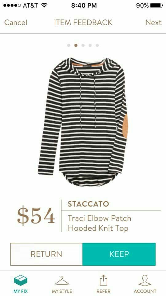 Stitch fix but a size up from normal if it runs small.    This is so cute...would love to see this in my next box