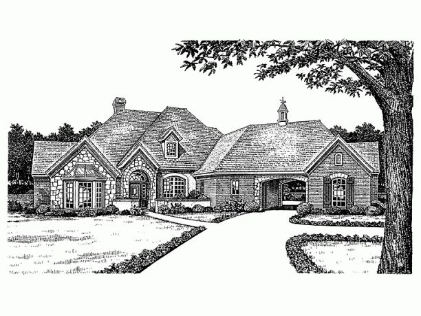french country house plans with porte cochere bing images