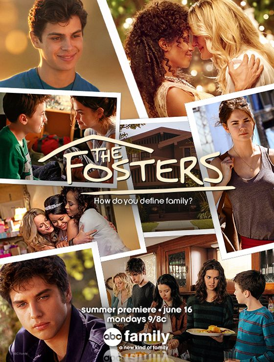 We love the new #TheFosters show poster for Season 2!