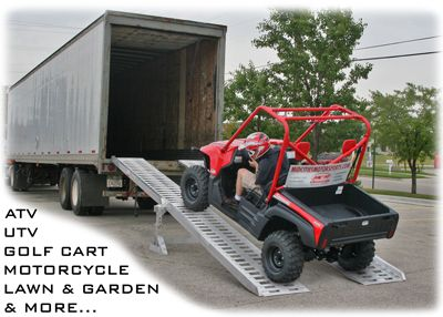Portable Semi 18 Wheeler Truck Trailer Ramps Amp Loading