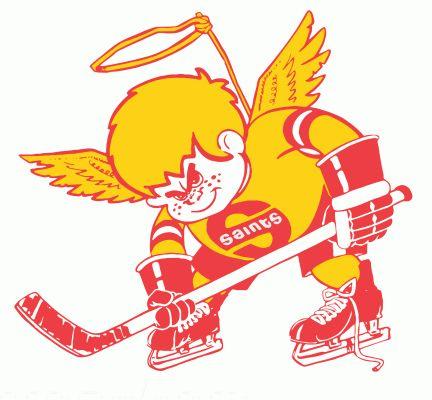 World Hockey Association Team Logos | Minnesota Fighting Saints hockey logo from 1976-77 at Hockeydb.com