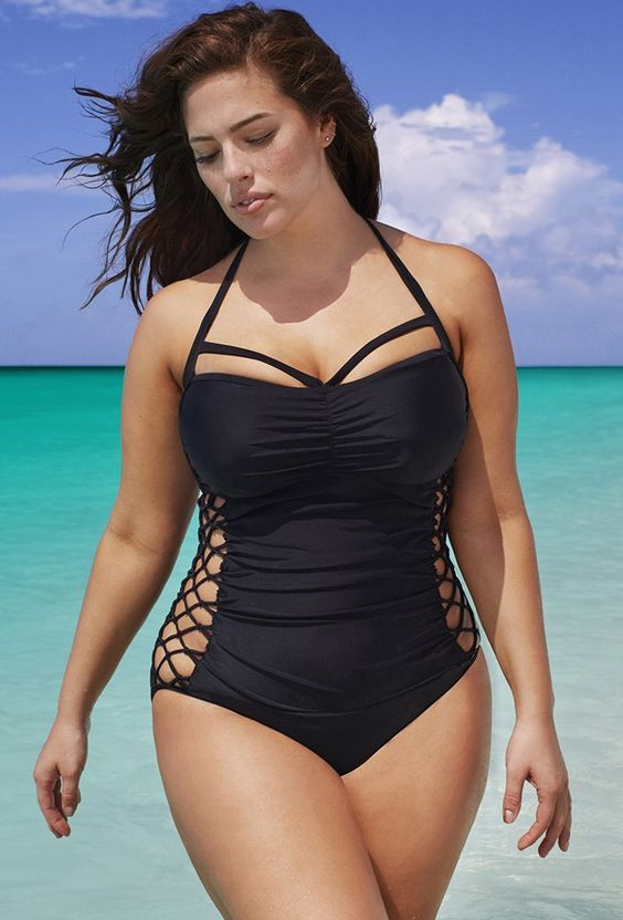 277823ceda ... Swimsuits For All Boss Underwire One Piece Swimsuit. Swim Plus Size  Boss Underwire 20 Black. Swim Sexy The Boss Underwire Swimsuit With my fav  girl!