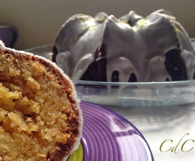 Cuadernos de cocina: Bundt Cake de piña colada y glaseado de limón