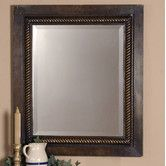 "Found it at Wayfair - 32"" H x 28"" Tanika W Wall Mirror"