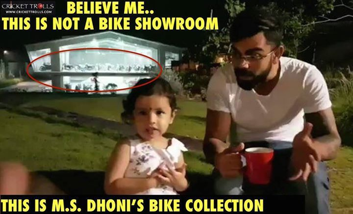 MS Dhoni's bike collection at home in Ranchi - http://ift.tt/1ZZ3e4d