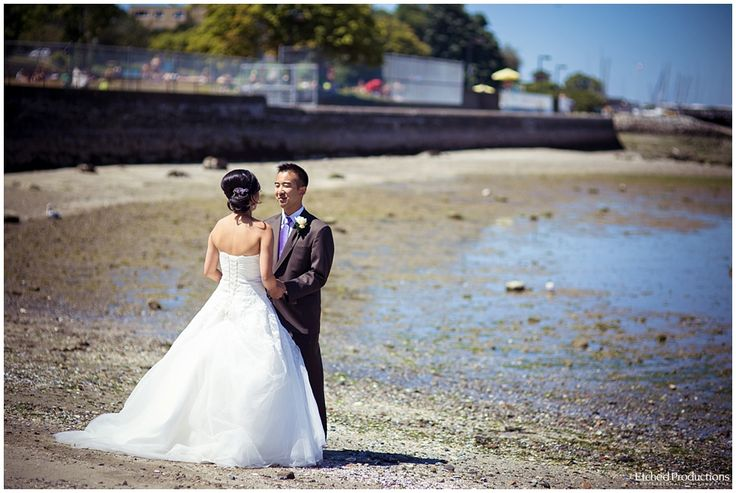 First Look on Kits Beach in Vancouver. Photographed by Chuck Hocker of Etched Productions.