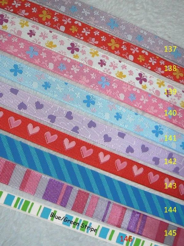 Handmade Dummy Clips Ribbon Range