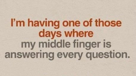 ha ha haLaugh, Quotes, Middle Fingers, Funny Stuff, Humor, Things, Funnystuff, True Stories, Giggles