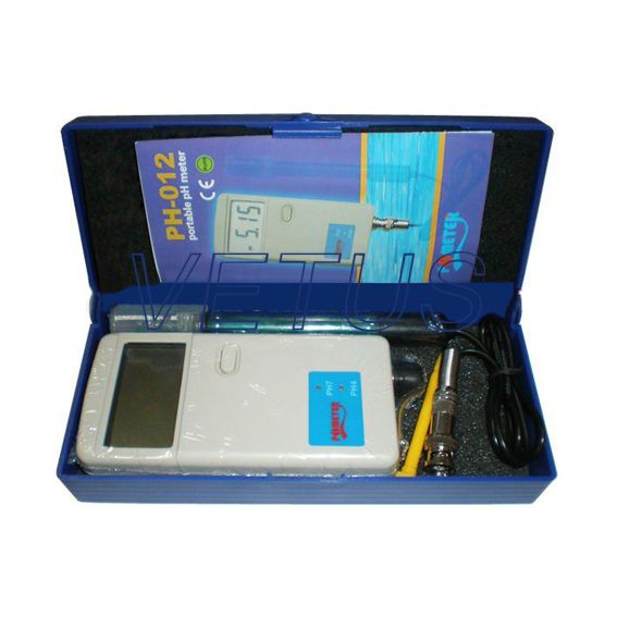 Portable pH meter Tester PH-012 Free shipping of EMS DHL Fedex