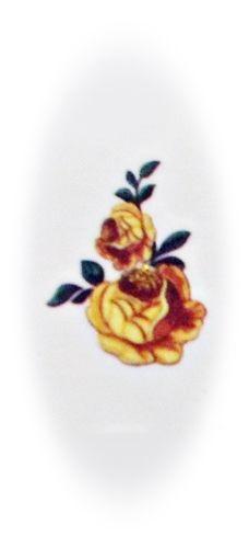 Nailstickers, Nagelsticker C 638, Sticker, bunt, Blumen, water transfer