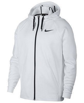Nike Men s Therma Training Full Zip Hoodie Men - Hoodies   Sweatshirts -  Macy s e2ad920b1a98