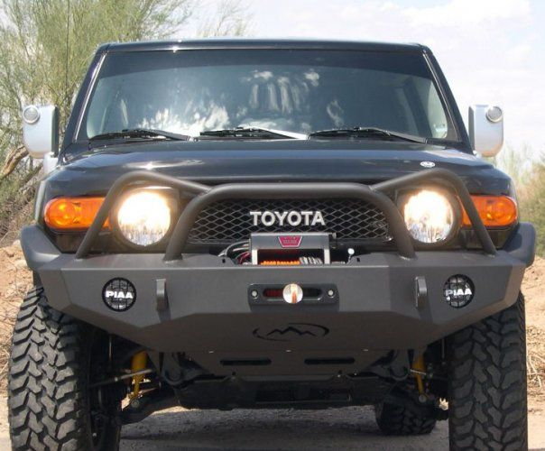 Expedition One Trail Series Diamond Style Front Bumper [FJCFB100_DM] - $1,179.99 : Pure FJ Cruiser Accessories, Parts and Accessories for your Toyota FJ Cruiser