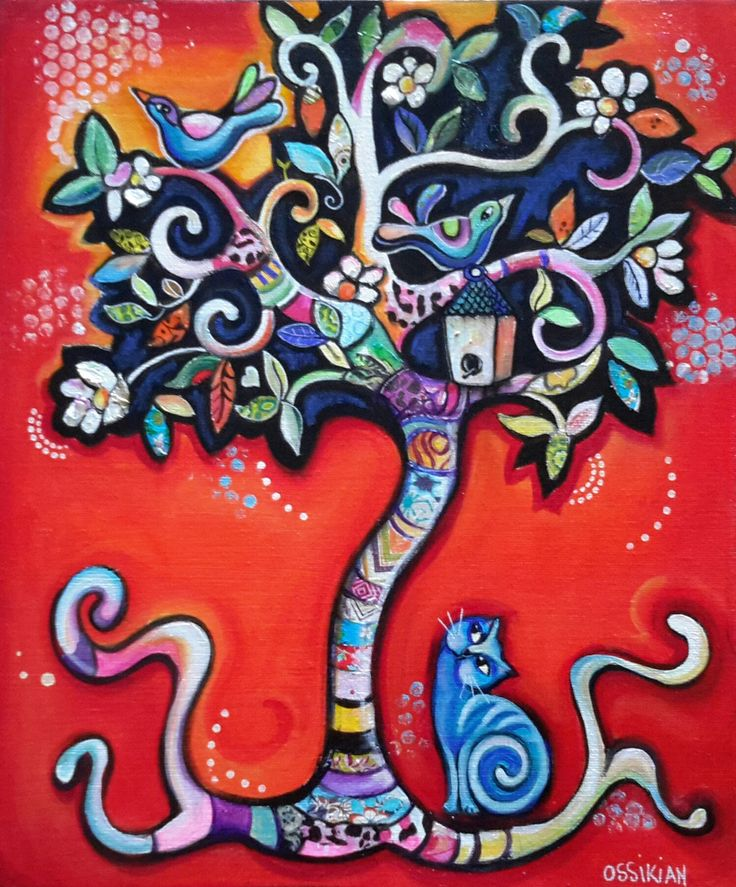 170 best arbre de vie peinture images on pinterest tree of life acrylics and art drawings. Black Bedroom Furniture Sets. Home Design Ideas