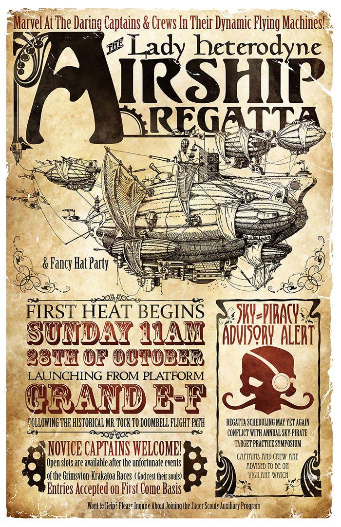 Increíbles Posters Steampunk !