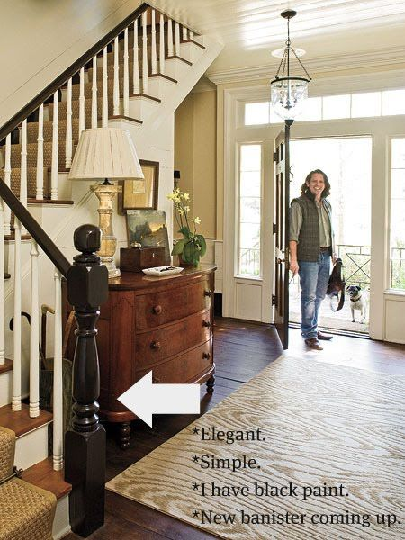 Foyer And Entryways Near Me : Best banister ideas images on pinterest