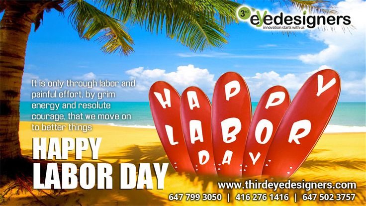 Team #ThirdEyeDesigners wish you all a very very #HappyLaborDay ..!!